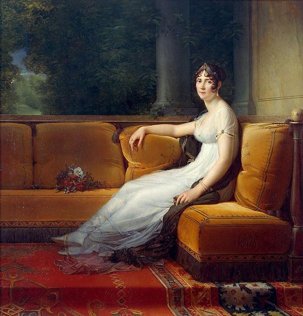 Жозефина Богарне была главной любовью в жизни Наполеона. Он одарил подарками и титулами не только ее, но и ее сыновей от первого брака. Франсуа Жерар. «Портрет Жозефины»