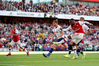 «Арсенал» отыгрался с 0:2 в дерби Северного Лондона с «Тоттенхэмом»