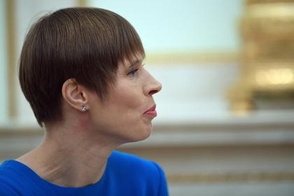 Президент Эстонии заявила о 25-летии окончания Второй мировой войны