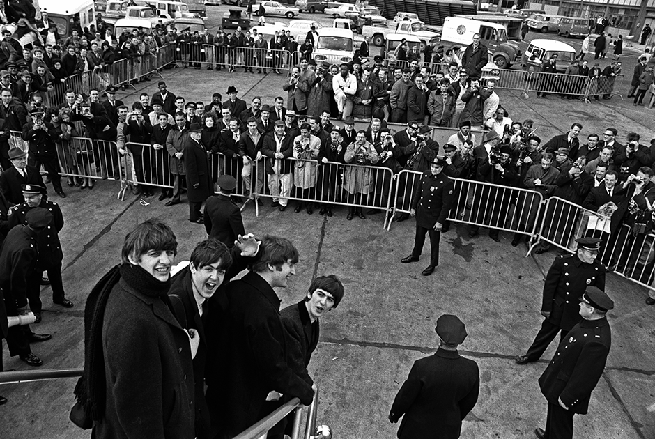 Прибытие в аэропорт имени Джона Кеннеди. Нью-Йорк, 7 февраля 1964 года