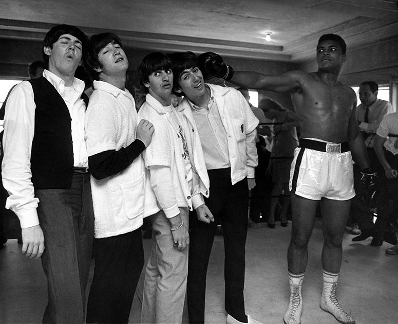 Джордж получает удар от Кассиуса Клея. Зал на 5-й авеню, Майами, 1964 год