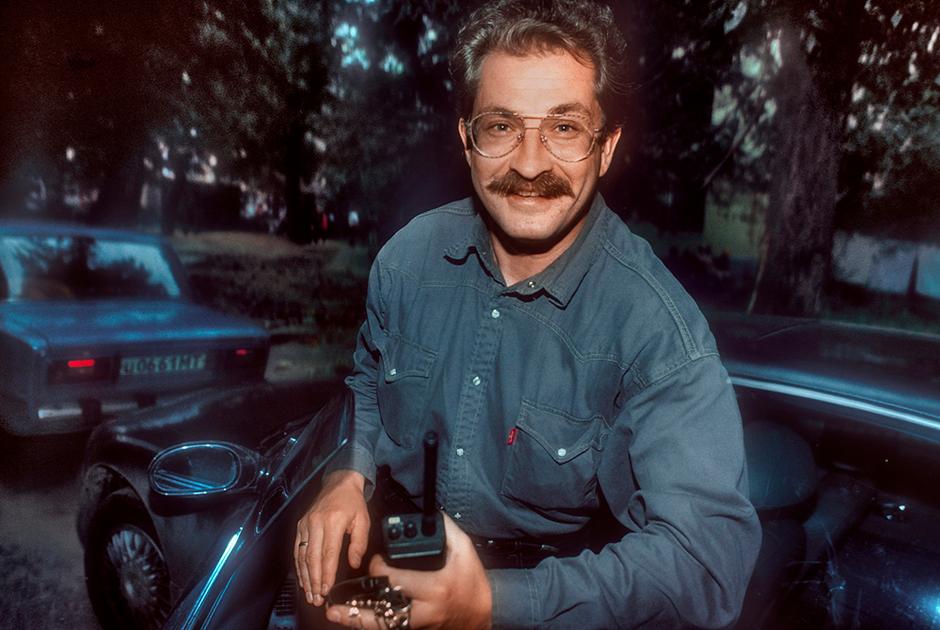 Телеведущий Владислав Листьев, 1994 год