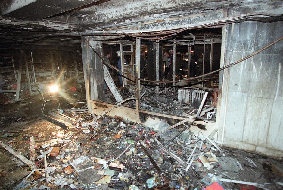 Взрыв в подземном переходе под Пушкинской площадью, 2000 год