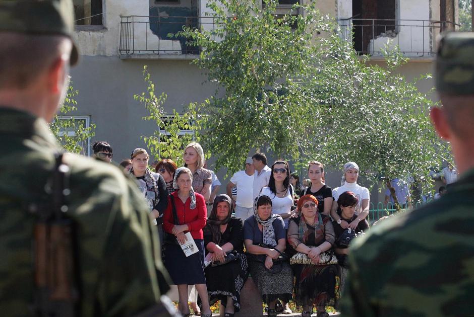 Траурные мероприятия в память о жертвах террористического акта, 2009 год