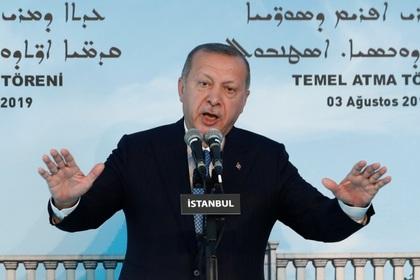 Эрдоган осудил действия США в Идлибе