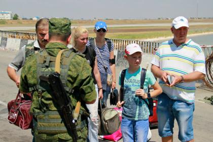 Россию обвинили во лжи по украинским туристам в Крыму