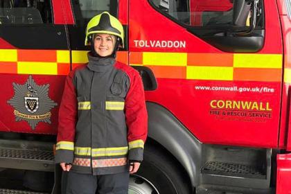 Женщина похудела в 2,5 раза и стала пожарницей