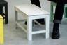 Южнокорейский дизайнер Чонха Чой (Jongha Choi) создал отличный комплект мебели для тех, у кого дома немного места, — например, для жителей популярных ныне малогабаритных квартир. De-dimension состоит из табуретки и стола из алюминия.<br><br>И табуретка, и стол легко складываются, и в сложенном виде их можно куда-то спрятать или повесить на стену — получится своего рода арт-объект. Практично, но, очевидно, не ново — складной мебели не десять и уже даже не 100 лет.