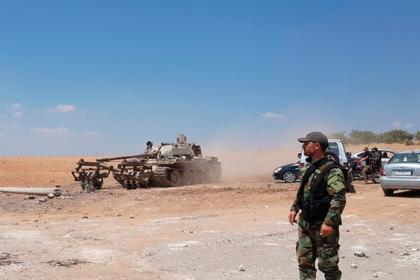 В Сирии погибли трое российских офицеров