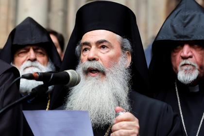 Иерусалимский патриарх отказался признавать новую украинскую церковь