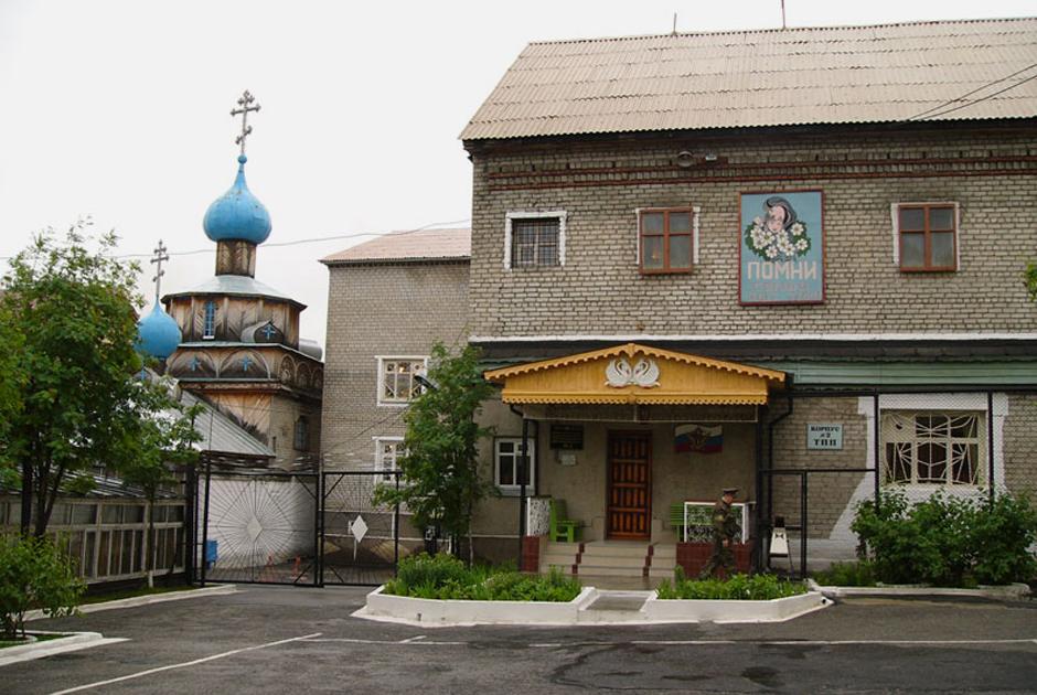 Один из корпусов колонии «Белый лебедь» (Соликамск)