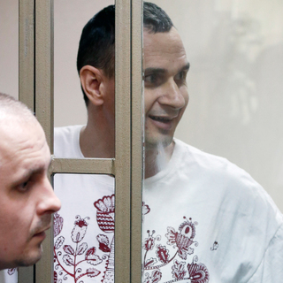 Дмитрий Динзе и Олег Сенцов