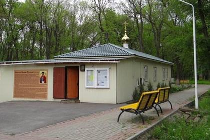 Российские военные поймали в храме напавшего на девочку грабителя