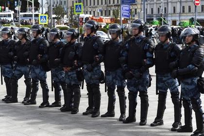 В МВД ответили на информацию о задержаниях журналистов на акциях в Москве