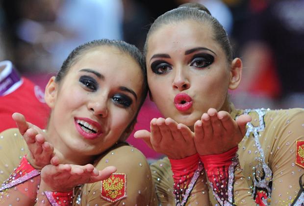Олимпийские игры-2012. Лондон. Алина Макаренко (слева) и Каролина Севастьянова