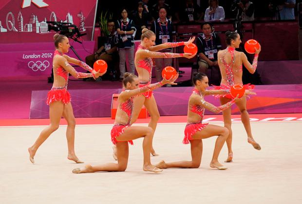 Олимпийские игры-2012. Лондон. Сборная Италии в групповых упражнениях