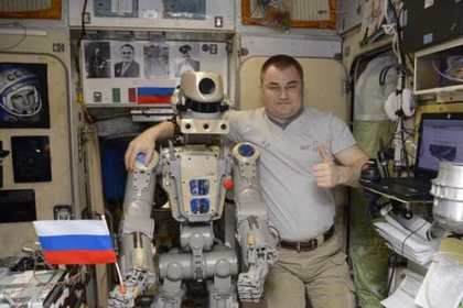 Робот Федор покинул МКС