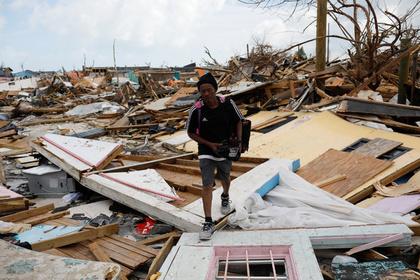 Острова Абако после урагана «Дориан»