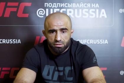 Российский боец на время потерял память во время боя на UFC 242