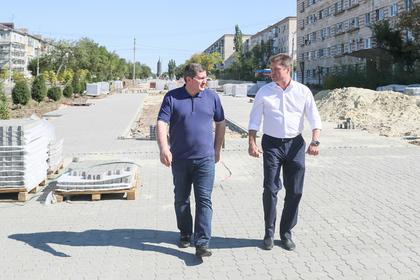 В российском регионе проверили благоустройство места притяжения