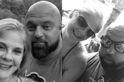 Погибшие Дэнни и Джули Хаган