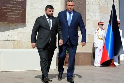 ДНР захотела прямой путь в Россию