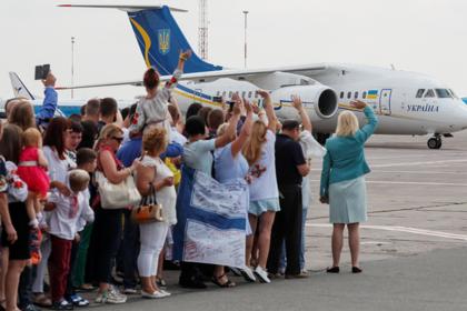 Обмен заключенными между РФ и Украиной