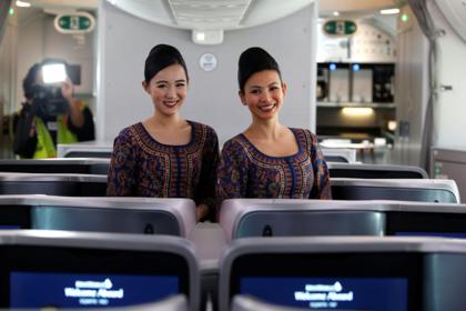 Названа авиакомпания с самым разнообразным питанием на борту