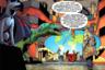 Этот выпуск показывает, что комиксы — это не только культурная традиция убедительной длины (Супермен, придуманный писателем Джерри Сигелом и художником Джо Шустером в 1938 году, с тех пор на каких носителях только не отметился), но и политика. История описывает исход Холодной войны, достигнутый в результате вмешательства супергероев. Супермен при этом — наш, он коммунист и вырос в СССР.