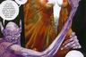 Вам всегда казалось, что комиксы — это такие клеточки, в которых мультяшные персонажи разговаривают облачками с текстом? Забудьте! По крайней мере, если увидите на обложке имя Топпи. Итальянский художник рисует не комиксы, а графические шедевры. Не случайно его называют «Гюставом Доре ХХ века». Один из самых известных (и, к счастью, переведенных на русский язык) — его сборник новелл по мотивам  «Тысячи и одной ночи». Ломаная перспектива, неправильная композиция, нестандартный макет и восточная избыточность — все это «Шараз-де» Серджо Топпи.