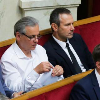 Сергей Рахманин  и Святослав Вакарчук