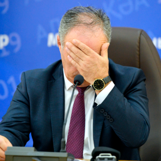 Председатель ЦИК Абхазии Тамаз Гогия