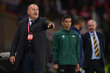 Черчесов прокомментировал победу над Казахстаном в отборочном матче к Евро-2020