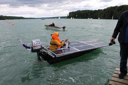 Россияне отличились в гонках судов на солнечных батареях