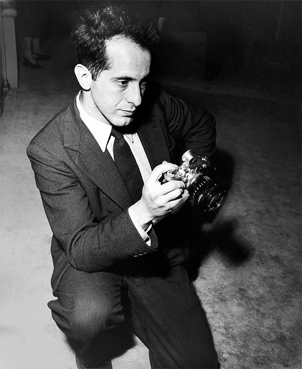 Роберт Франк в 1954 году