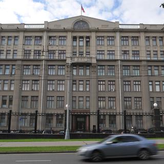 Здание администрации президента России