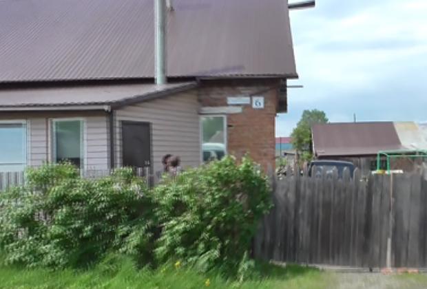 Дом Крайновых на Светлой улице в поселке Подобас