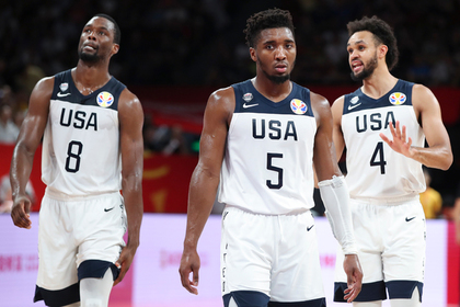 Сборная США по баскетболу впервые за 17 лет осталась без медалей чемпионата мира