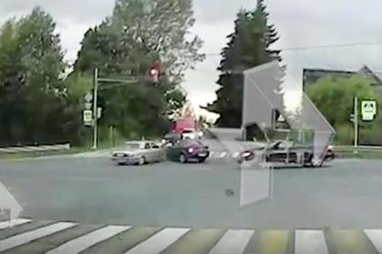 Авария со звездой фильма «Все будет хорошо» попала на видео