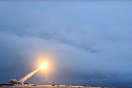 Испытания ракеты «Буревестник»