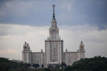 МГУ вошел в десятку лучших вузов мира