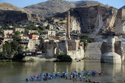 В Турции решили затопить курдский город