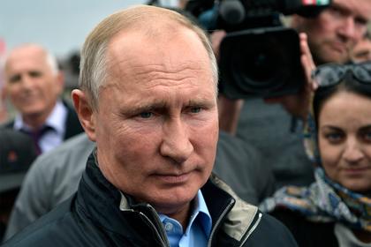 Путин высказался о слюнтяе во главе государства