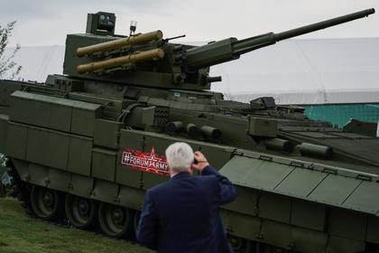 Парадная Т-15 «Армата» оказалась уязвимой