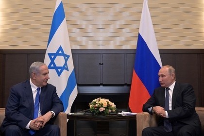 Путин и Нетаньяху обсудили Сирию
