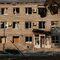 Разрушенное здание в городе Иловайске Донецкой области