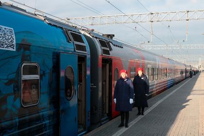 Объяснен «самый странный маршрут» московского поезда
