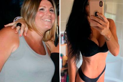 Мать двоих детей похудела вдвое и изменилась до неузнаваемости