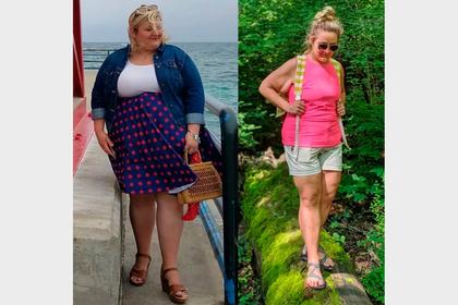 Женщина сбросила 63 килограмма на диете из пирожных и жареной курицы