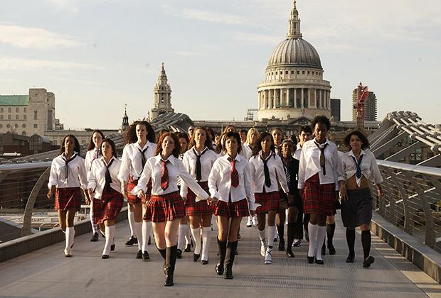 Съемки клипа группы tATu в Лондоне